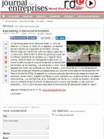 article de presse sur l'equicoaching par Equi-jobbing